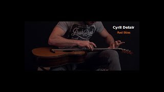 cyril delair - red skies (clip officiel) lap tapping acoustic guitar