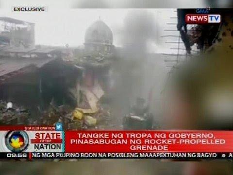 Joint Task Force Marawi: Mga mosque, ginagawang defensive position ng Maute-ISIS