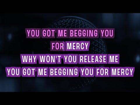 Mercy Karaoke Version by Duffy (Video with Lyrics)