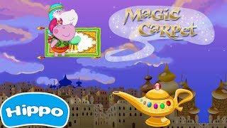 Гиппо 🌼 Приключения Аладдина 🌼 Волшебная Лампа 🌼 Мультик игра для детей (Hippo)
