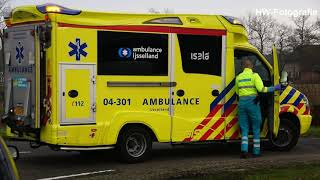 Twee gewonden bij botsing op kruising in Nieuwleusen