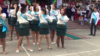 Выпускной 2012-2013 Школа №104 11А  попурри