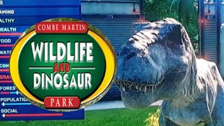 Building Combe Martin Wildlife and Dinosaur Park in jurassic world evo(2): big cage