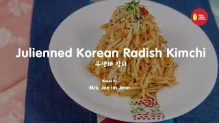 Kimjang Project: Julienned Korean Radish Kimchi