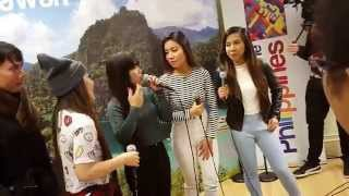 4th impact aint no other man and work it out live at the PHILIPPINE EMBASSY