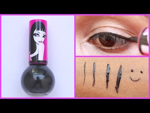 Elle 18 Black Out Eyeliner Review & Demo | pinkrussh
