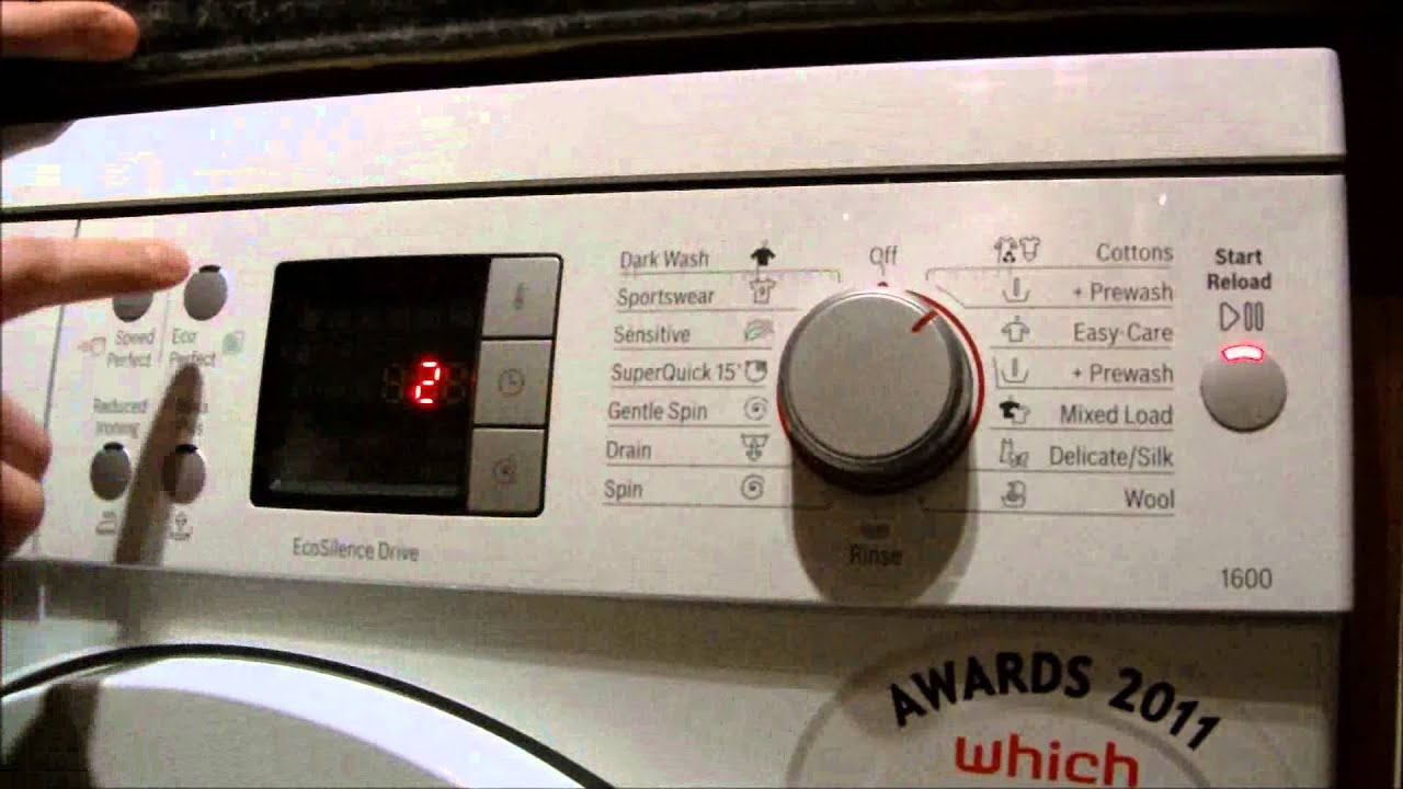 bosch logixx washing machine how to change beeper and signal rh youtube com bosch logixx dryer instructions bosch logixx dryer instructions
