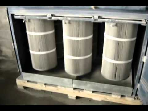 Dust Collectors For Granite And Stone Dust Youtube