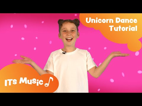 Unicorn Song | Dance Tutorial | ITS Music Kids Songs thumbnail