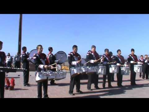 Kerman High School Percussion, Pismo Beach 2015