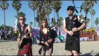 Orange And Blue -CELTICA recording in L.A.