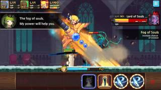 Crusaders Quest:Fortress of souls-Dashing darkness.Leon swordmaster solo.