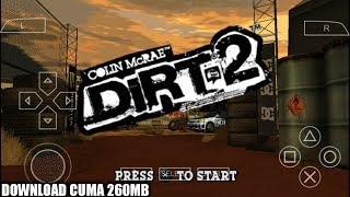 Cara Download Game Colin McRAE Dirt 2 PPSSPP Android
