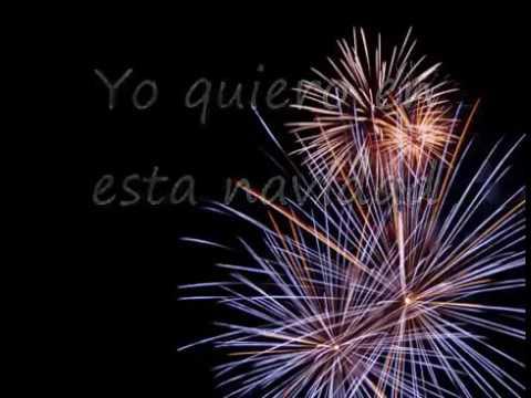 Feliz Navidad 🎄en inglés con texto en español 😊