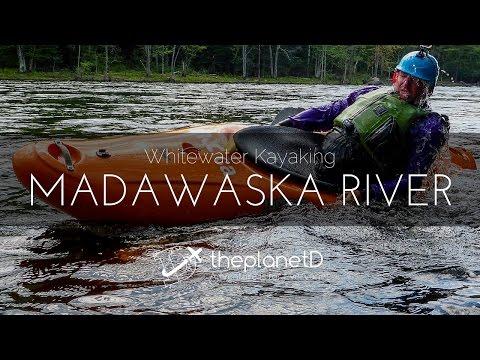 Whitewater Kayaking Ontario Canada's Madawaska River!