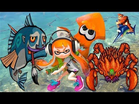 Top Ten Marine Animals in Video Games