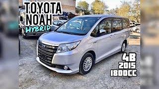 Обзор Toyota Noah Hybrid 2015 г. 1800сс Только из Японии