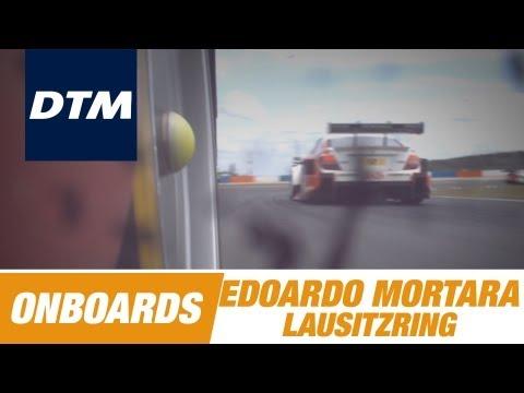 Onboard Edoardo Mortara Audi RS 5 DTM - DTM Race Lausitzring