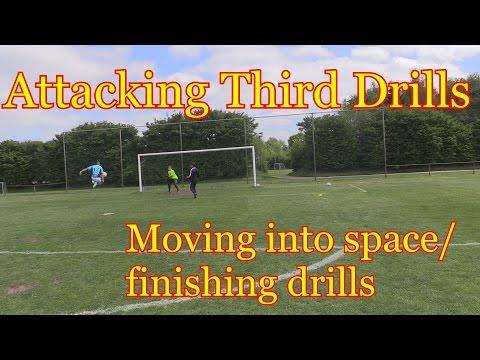 Attacking Third Movement & Finishing Soccer Drills - YouTube