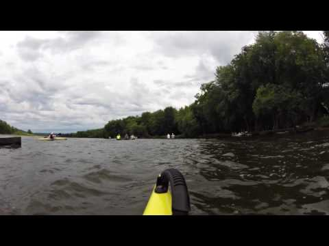 Spring Green to Muscada Wisconsin River Race Start 2016
