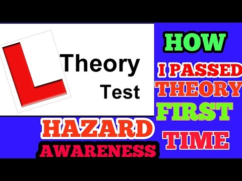 THEORY TEST PRACTICE HAZARD AWARENESS   ALL QUESTIONS FROM DVSA BOOK 2018