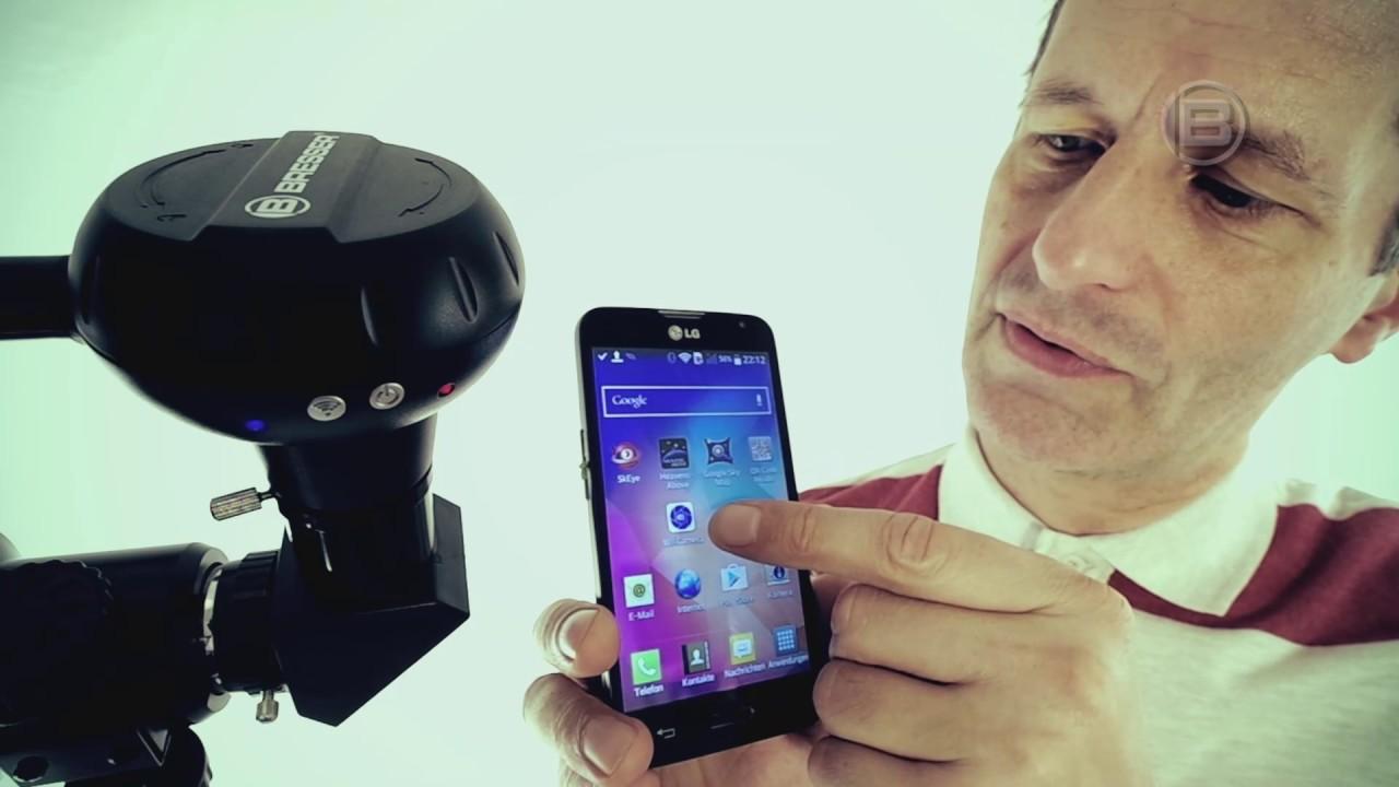 Bresser wifi kamera teleskop kamera youtube