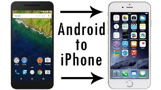 How to Transfer Contacts, Pictures, and More from Android Phones to iPhones