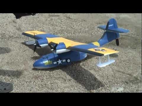 Hobbyking PBY Catalina 1380mm (PNF) Test Flight