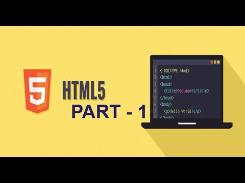 web design tutorial (2019) ! Html Coding   part -1 . thumbnail