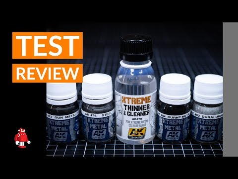 Xtreme Metal Colors AK Interactive Paint Review with Lincoln Wright