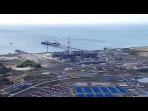 Sakhalin-2 Project_LNG Plant_aerial view.mpg