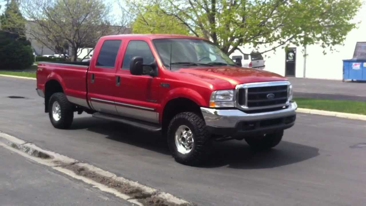 2000 ford f350 crew cab 4x4 6 spd 7 3 powerstroke turbo diesel