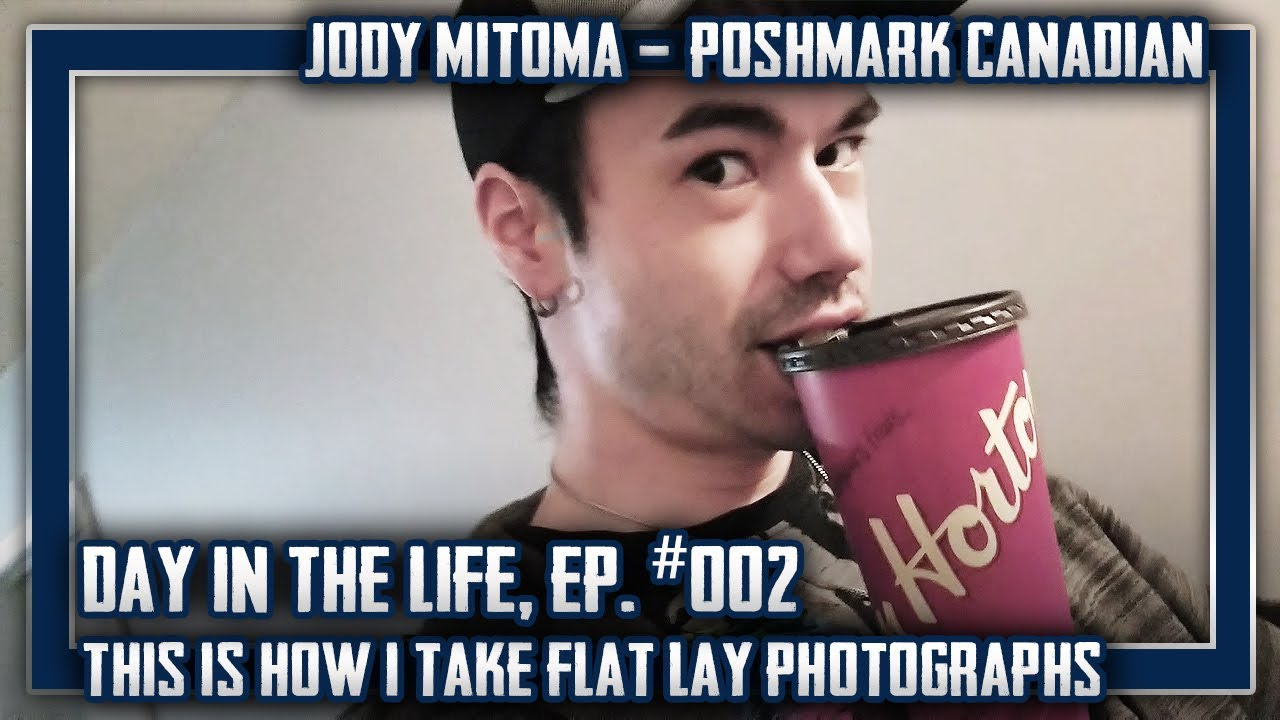 EP #2: Day in the Life of a Canadian Poshmark Reseller - My Flat-Lay  Photography Process