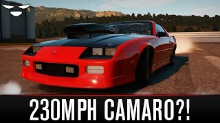 Forza Horizon 2 | Chevrolet Camaro IROC-Z Drag Build (1990)