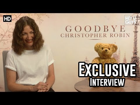Kelly Macdonald - Goodbye Christopher Robin Exclusive Interview