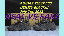 4c67abe0fc2d0 REAL VS FAKE YEEZY 500 Utility Black - Duration  10 31.