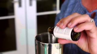 Regina Charboneau's Rosewater Gin Fizz