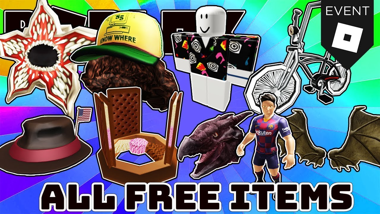 All Active Promo Codes And Free Items And Events In Roblox July