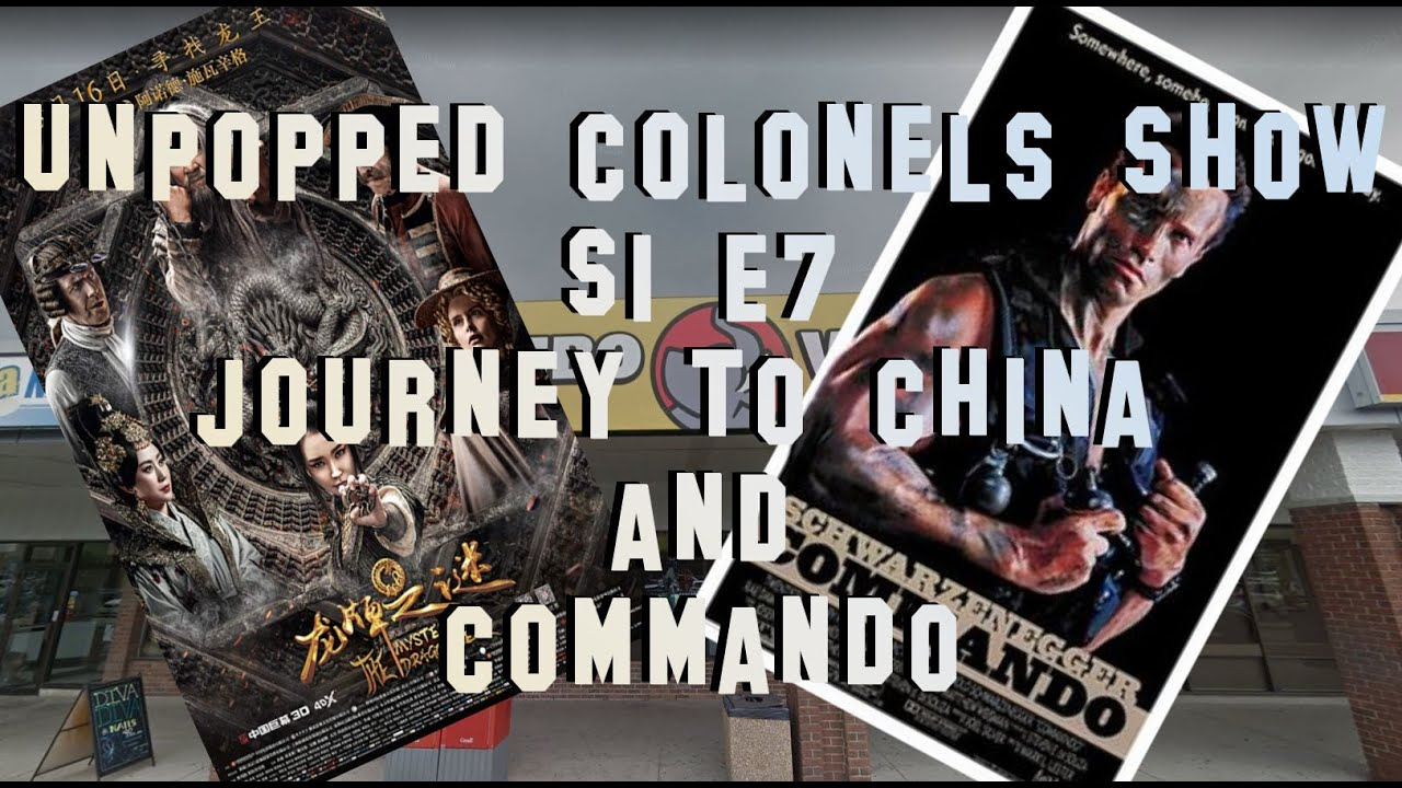 Download Unpopped Kernels Show S1 E7 - Journey To China: Mystery of The Iron Mask & Commando