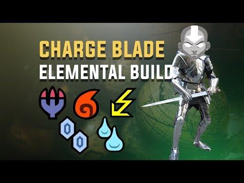 Elemental Charge Blade Build – Monster Hunter: World. Element CB: Dragon, Blaze, Bolt, Frost, Stream
