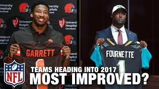 Most Improved Rosters Heading into 2017? | Move the Sticks | NFL