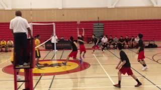 Varsity Volleyball 3/16/17.