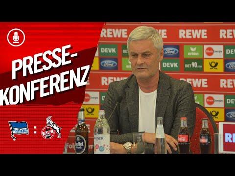 """🎙️ """"Eine kleine Chance"""" - FC-Geschäftsführer Armin Veh vor der Partie in Berlin"""