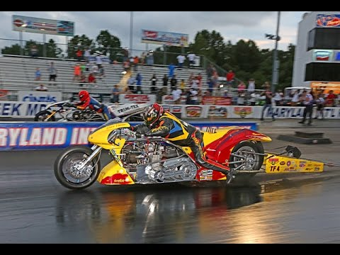 David Vantine's 5 second, 240+ MPH Nitro Badass Bike