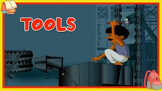 Learn About Tools - Preschool Learning For Kids - Educational Video For Children