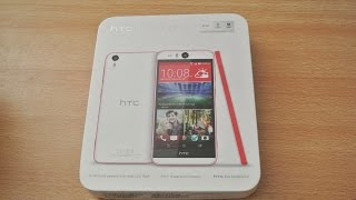 HTC Desire EYE - Unboxing, Setup & First Look HD