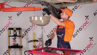 Skifte Drivstoffilter OPEL CORSA: verkstedhåndbok