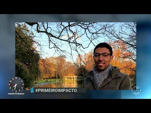 Jovem brasileiro encontrado morto na Irlanda é enterrado   Primeiro Impacto (10/04/18)