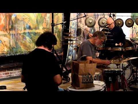 Gino Robair, Rich O'Donnell, Andrea Centazzo - Percussion Trio (excerpt)