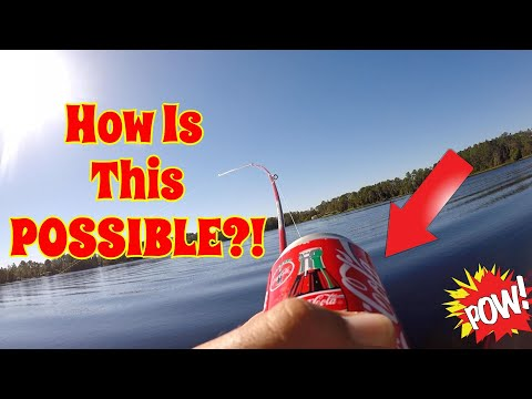 CRAZIEST Fishing Rod EVER!! Hilarious Fishing Challenge! (Surprising!)